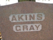 Akins- Gray - Map1 Row4 Plot152