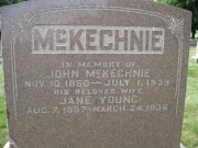 McKechnie Map1 Row1 Plot190 N
