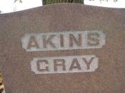 Akins- Gray - Map1 Row4 Plot152