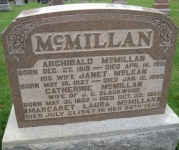 McMillan - Map1 Row6 Plot43 B