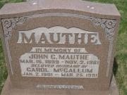 Mauthe M2 R5 P98 LA,B